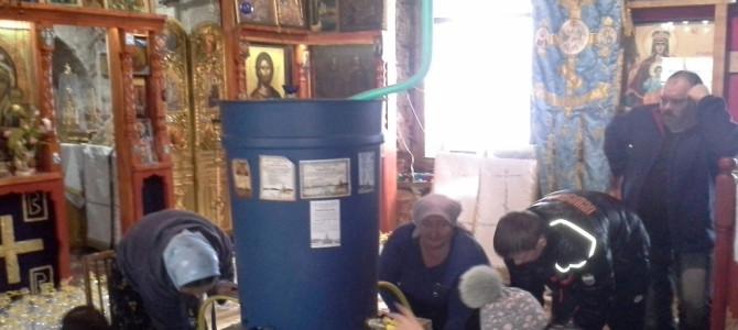 Крещение 2016 подготовка праздника