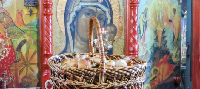сОроки. Преждеосвященная литургия на Сорок мучеников.