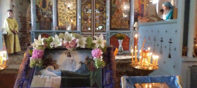 Колокольный звон над Мжутом разливается: в Преображенском храме Успение отмечается
