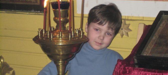 Я вспомнил детство золотое и «патриарший» храм родной…